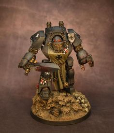 Black Templar Dreadnought Contemptor