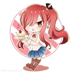 Image Fairy Tail, Fairy Tail Love, Fairy Tail Art, Fairy Tail Girls, Fairy Tail Couples, Fairy Tales, Fairy Tail Anime, Natsu Fairy Tail, Anime Chibi