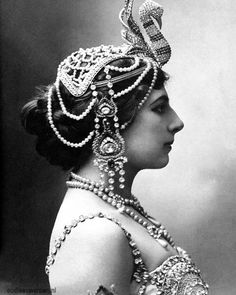 Mata Hari, alias Margaretha Zelle.