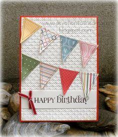 Happy Birthday w/ bunting
