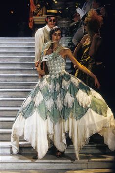 Christian Dior Spring 1998 Couture Fashion Show - Suzanne von Aichinger
