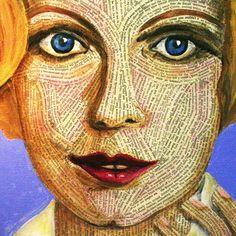 The Great Gatsby | Daisy Buchanan by artist Cheryl Hicks - She was my English teacher...for real, amazing.