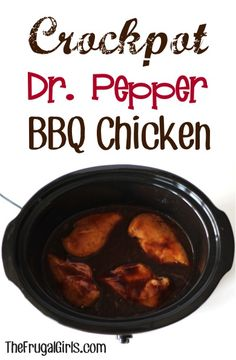 On the hunt for another yummy Crockpot Meal and Delicious Dinner Recipe? You're going to love Crockpot Dr. Pepper BBQ Chicken… it's oh-so-easy to make, and absolutely delicious! Crock Pot Food, Crockpot Dishes, Crock Pot Slow Cooker, Slow Cooker Recipes, Cooking Recipes, Crockpot Meals, Crockpot Stuffing, Cooking Tips, Keto Recipes