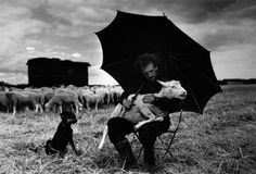 Herdsman, 1954 by Sabine Weiss Sabine Weiss, Most Famous Photographers, French Photographers, Alberto Giacometti, Robert Doisneau, Vivian Maier, Willy Ronis, Under My Umbrella, The Shepherd