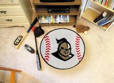 University of Central Florida Baseball Rug