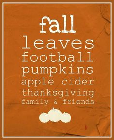 Fall into Thanksgiving