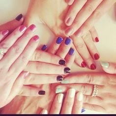 The girls at Avon HQ are loving Nailwear Pro+ - a riot of colour! #avon #nailwear #nails #notd #nailcolour