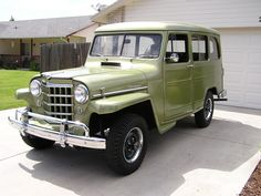 1953 Willys Station Wagon - Photo submitted by Alan Good.