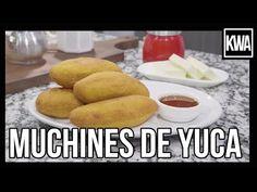 MUCHINES DE YUCA Spanish Food, Carne, Ecuadorian Recipes, Sweet Potato, The Creator, Cooking Recipes, Tasty, Melting Pot, Bread