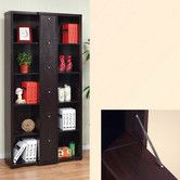 Found it at AllModern - Gilmore Bookcase / Display Cabinet in Red Cocoa Brown