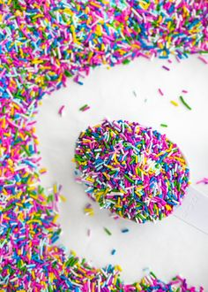 Find the best jimmies and sprinkles at Sweetapolita! Rainbow Parties, Rainbow Birthday Party, Rainbow Theme, Cake Craft Company, Cake Decorating Supplies, Decorating Tips, Chocolate Sprinkles, Edible Food, Candy Corn