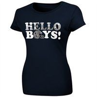Dallas Cowboys Women's Hello Boys T-Shirt!