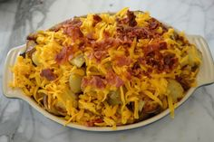 Loaded Oven Potatoes : Martin Family Style -