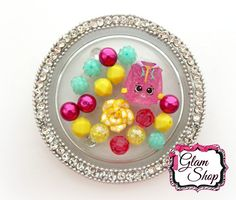 Shopkins Bracelet Kit Party Favor Small Beads  by GlamShopBeads