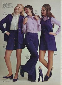 Sears Women's Fashion, 1972 - Retronaut