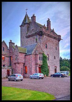 Guthrie Castle, Scotland