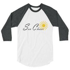 Sun Chaser 3/4 sleeve raglan shirt