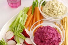 Entertaining is made easy with these two delicious vegetarian dips.