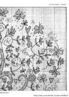 Схема Bothy Threads Love Tree. Обсуждение на LiveInternet - Российский Сервис Онлайн-Дневников
