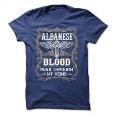 ALBANESE - BLOOD - 2015 - #white shirt #workout tee. ORDER NOW => https://www.sunfrog.com/Valentines/ALBANESE-2D-BLOOD-2D-15-RoyalBlue-Guys.html?68278