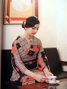 アールデコキモノ | ヲチコチニ 着物 ~ まかりんの雑記帳