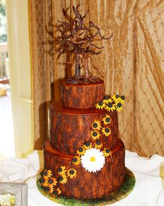 Image result for fondant oak tree Chocolate Tree, Chocolate Flowers, Oak Tree Bark, Oak Tree Wedding, Chocolate Decorations, Tiered Cakes, Carrot Cake, Fondant, Wedding Cakes