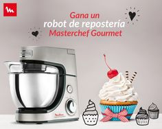 GANA UN ROBOT MASTERCHEF GOURMET Master Chef, Robot, Popcorn Maker, Kitchen Appliances, Jr, Ideas, Pageants, 100 Followers, Sweets