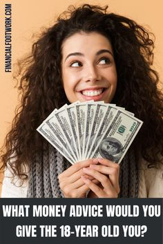 Tell your 18-year old self about money. What would you say? #moneymanagement #moneytips #advice #finance #personalfinance #money #budget #advice #learn Earn Money From Home, Earn Money Online, Make More Money, Extra Money, Money Fast, Start Online Business, Business Money, Business Ideas, Improve Your Credit Score