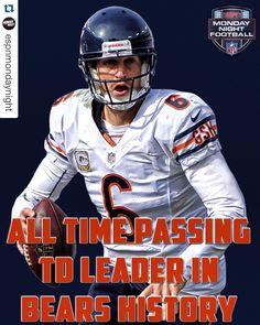 """""""Congrats to Jay Cutler.  #Bears"""""""