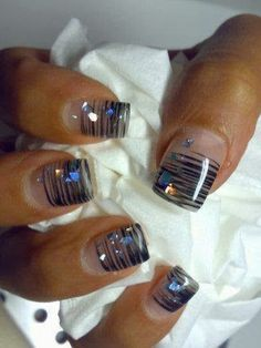 21 Cool Nail Art Ideas Long time since I don't do my nails, need a manicure so bad!