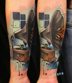 https://www.facebook.com/pages/Ivana-Tattoo-Art/208943449123095 Gramophone