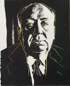 Screenprint - Andy Warhol - Alfred Hitchcock