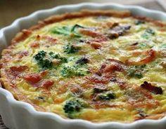 Broccoli Quiche, glutenvrij deeg gebruiken