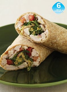 Wrap de Pavo y Queso Cheddar - Weight Watchers México Weight Warchers, Queso Cheddar, Healthy Food, Healthy Recipes, Carne, Wraps, Cooking Recipes, Snacks, Drink