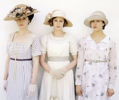 Lady Mary, Lady Edith, Lady Sybil Kibbe DC, SC, SN Dramatic Classic, Soft Classic and Soft Natural