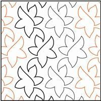 quilting motif Quilting Stitch Patterns, Machine Quilting Patterns, Quilt Stitching, Quilt Patterns, Quilting Stencils, Quilting Templates, Quilting Tutorials, Quilting Ideas, Crazy Quilting