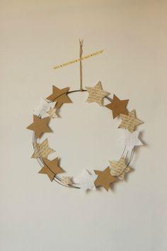 {J-16} P12 Créatif : Couronne de Noël