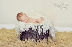 Fringe Baby Blanket