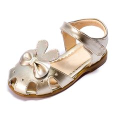 #lovely style round toe #baby #shoes kid #toddler #shoes #girl flat #sandals