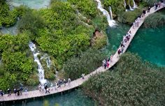Croatia - The park is criss-crossed by a series of paths and trails that allow visitors to explore the area and observe the flora and fauna