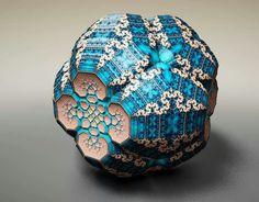Fraberge Fractal, Tom Beddard, Rendered w the artists web GL 3D fractual FB