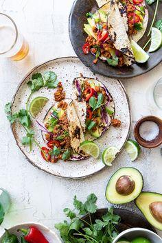 Tempeh Tacos via Real Food by Dad