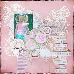 Published in Australian Scrapbooking Ideas magazine using Kaisercraft True Romance Scrapbook Paper, Scrapbooking Layouts, True Romance, Easel Cards, Old Paper, Some Ideas, Counting, Projects To Try, Ideas Magazine