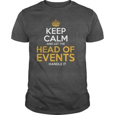 Awesome Tee For Head Of Events T-Shirts, Hoodies. Check Price Now ==► https://www.sunfrog.com/LifeStyle/Awesome-Tee-For-Head-Of-Events-130984158-Dark-Grey-Guys.html?id=41382