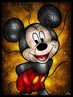 I think Mickey Mouse is the most awesome character that Walt Disney brought to life. Mickey Mouse Y Amigos, Mickey Mouse And Friends, Mickey Minnie Mouse, Disney Dream, Disney Magic, Disney Art, Mickey Mouse Wallpaper, Disney Wallpaper, Mickey Mouse Kunst