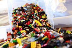 IHeart Organizing: Organizing Legos: Part 1 - Build Buckets - ORGANIZING LEGOS!!!!