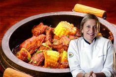 Frango com espiga de milho verde, receita da chef Monica Rangel - http://chefsdecozinha.com.br/super/receitas/carne-de-aves/frango-com-espiga-de-milho-verde-receita-da-chef-monica-rangel/ - #ComidaMineira, #MonicaRangel