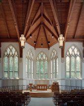Goodson Chapel @ Duke Divinity, minus the recently installed cross.