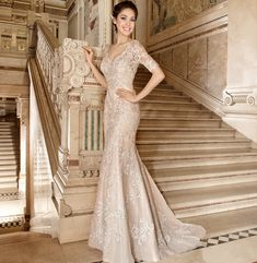 http://www.modwedding.com/2014/10/29/demetrios-wedding-dresses-intricate-crystal-beading/ #wedding #weddings #wedding_dress