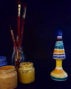 #maddalena #ceramic #plug ....another #musthave if you like the life full of #colors#luxurysextoys #ItalianPleasureArt #handmade #handpainted #madeinitaly